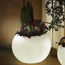 Vaso piante luminoso di qualità, bianco 65