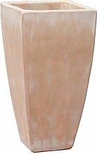 Vaso Quadrato da Giardino in gres - Terracotta -