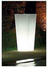 Vaso Quadro mod. Cecina h 85 Luminoso - Linea