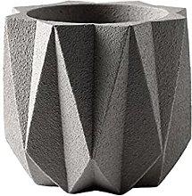 Vaso succulento Vasi per piante di cemento Vasi