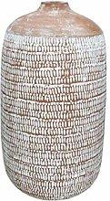 Vaso, terracotta, marrone, 24 x 24 x 43 cm