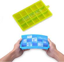 Vassoi per cubetti di ghiaccio in silicone con