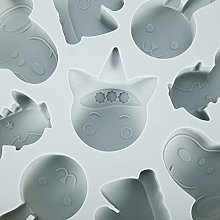 Vassoi per ghiaccioli a forma di animali dei