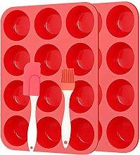 Vassoio antiaderente per 12 muffin,Teglia in