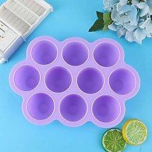 Vassoio per congelatore per alimenti in silicone