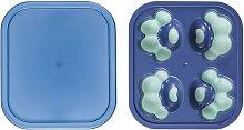 Vassoio per cubetti di ghiaccio in silicone,