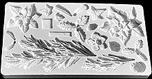 Vassoio per fondente in silicone, stampo per
