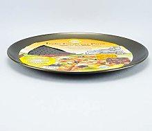 Ve VSP097 Teglia Forata Pizza, Argento