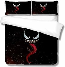 Venom Quilt Cover, Trapuntino 3D Animation Cover,