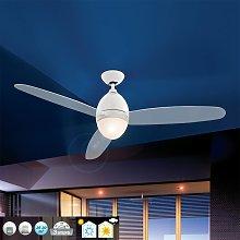 Ventilatore bianco da soffitto Premier, 132 cm