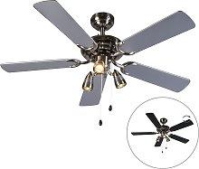 Ventilatore da soffitto grigio - MISTRAL 42