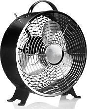Ventilatore da tavolo VE5966 nero, stile vintage