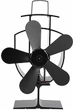 Ventilatore per camino, termoventilatore a 5 lame