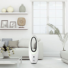 Ventilatore senza pale con LED display e timer da
