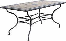 VENTUS - tavolo da giardino rettangolare in ferro