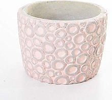Veramaya Anello Fantasia Vaso di Cemento Rosa