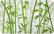 Verde Cinese Giapponese Di Bambù Erba Orientale