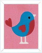 Vervaco Uccello arazzo, Multicolore