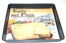 Vespa Srl 250 Teglia Quadrata per Pizze, Alluminio
