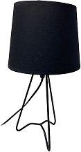 Vetrineinrete - Lampada da comodino treppiedi base