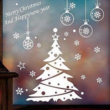 Vetrofanie adesivo da parete decorazione albero di