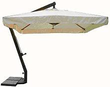 VICTOR - ombrellone da giardino 3 x 4 decentrato