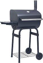 vidaXL Barbecue a Carbone con Affumicatore e