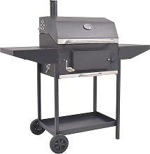 vidaXL Barbecue a Carbonella con Ripiano Inferiore