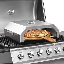 vidaXL Forno Pizza con Piastra Ceramica per