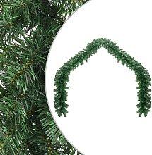 vidaXL Ghirlanda di Natale in PVC 10 m