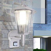 vidaXL Lampada da parete per esterno con sensore