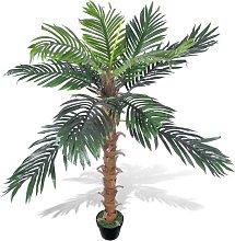 vidaXL Palma da Cocco Pianta Artificiale con Vaso