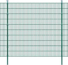 vidaXL Pannelli per recinzione da giardino con