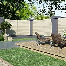 vidaXL Pannello di Recinzione da Giardino 1,7x1,7 m