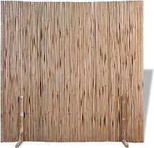 vidaXL Pannello Divisorio in bambù 180x180cm