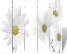 vidaXL Paravento Pieghevole 200x170 cm con Stampa