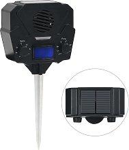 vidaXL Repellente Solare Ultrasonico per Animali
