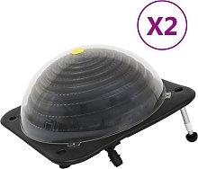 vidaXL Riscaldatori Solari per Piscina 2 pz
