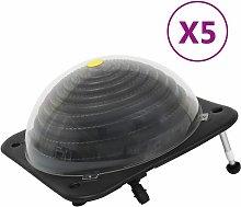 vidaXL Riscaldatori Solari per Piscina 5 pz