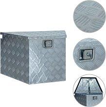 vidaXL Scatola in Alluminio 737/381x410x460 mm