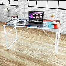 vidaXL Scrivania Rettangolare Design Unico