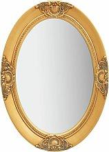 vidaXL Specchio da Parete Stile Barocco 50x70 cm