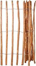 vidaXL Staccionata in Legno di Nocciolo 150x250 cm