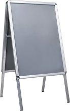 vidaXL Supporto per Poster Clienti A1 in Alluminio