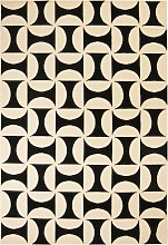 vidaXL Tappeto Moderno con Motivo Geometrico