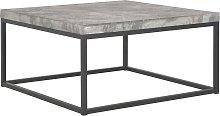 vidaXL Tavolino da Caffè 75x75x38 cm Aspetto