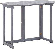 vidaXL Tavolo da Balcone Pieghevole 90x50x74 cm in