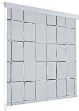 vidaXL Tenda a Rullo per Doccia 80x240 cm con