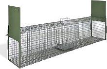 vidaXL Trappola per Animali Vivi con 2 Porte 150 x