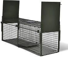 vidaXL Trappola per Animali Vivi con 2 Porte